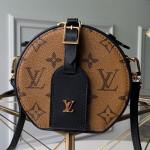 Monogram Mini Boite Chapeau Round Case Top Handle Bag M68276 2019 Collection