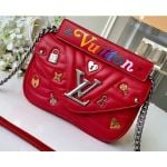 Love Lock New Wave Chain Pm Bag M53213 Red 2019