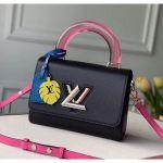 Epi Leather Twist Mm Bag With Plexiglass Handle M56112 Black 2020 Collection