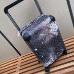 Horizon 55 Monogram Galaxy Canvas Rolling Luggage Bag 2019 Collection