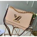 Epi Leather Twist Mm Bag With Short Chain Handle M51884 Beige 2020 Collection