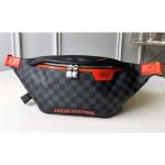 Men's Discovery Belt Bag/bumbag M44445 Damier Graphite Canvas/orange 2018