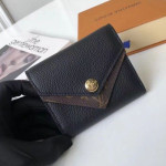 Double V Compact Wallet M64420 Black  Collection