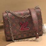 Monogram Pop Twist Mm Shoulder Bag M55480 Red 2019 Collection