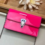 Cherrywood Woc Chain Wallet In Patent Leather M67793 Pink 2019 Collection