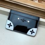 Venice Card Holder In Patent Leather M67639 Black Collection