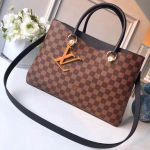 Damier Ebene Canvas Lv Riverside Handbag N40050 Noir 2018 Collection