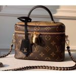 Monogram Canvas And Reverse Vanity Pm Bag M45165 2020
