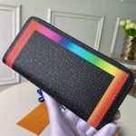 Colorful Trim Zippy Long Wallet M30569  Collection