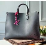 Epi Grained Cowhide Leather Onthego Mm Tote Bag Black M56080 2020 Collection