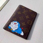 Monogram Canvas Print Passport Cover M64411 Blue 2019 Collection