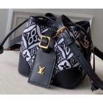 Bucket Mini Bag 1854 Canvas Black Runway 2020