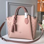 Haumea Mahina Perforated Leather Top Handle Bag M55030 Pink 2019 Collection