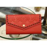 Sarah Wallet M64816 Red