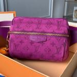 Monogram Denim Outdoor Bumbag/belt Bag M44624 Purple 2019 Collection