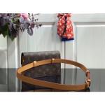 Monogram Canvas Blended Fabrics 2way Chain Hip Packs M44667