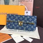 Denim Clutch Bag M44472 Blue