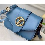 Lv Pont 9 Bag M55947 Blue 2020