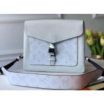 Outdoor Flap Messenger Bag M30411 Silver 2020