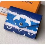 Monogram Canvas Lv Escale Victorine Wallet M69112 Blue 2020 Collection