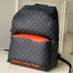 Men's Damier Cobalt Canvas Discovery Backpack Pm N40157 2019 Collection