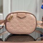 Monogram Patent Leather Belt Bag M90531 Pink 2019 Collection