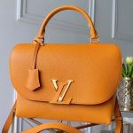 Volta Lv Flap Top Handle Bag M55214 Yellow 2019 Collection