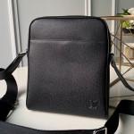 Men's Alex Messenger Bb Shoulder Bag M30265 Black 2019 Collection