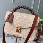 Pochette Métis Monogram Empreinte Leather Braided Top Handle Bag M53940 2019 Collection