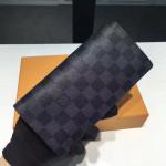 Brazza Wallet Damier Cobalt Canvas N63212