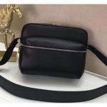 Men's Outdoor Messenger Shoulder Bag M33435 Black 2018