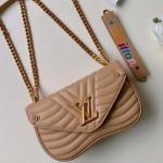 New Wave Chain Shoulder Bag Mm M55206 Beige 2019 Collection