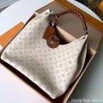 Carmel Hobo Shoulder Bag M53188 Creme White 2019 Collection