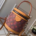 Cannes Monogram Pop Bucket Top Handle Bag M55457 Red 2019 Collection