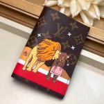 Monogram Canvas Animals Passport Cover M62089 Xmas 2018 Collection
