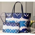Lv Escale Neverfull Mm Tote Bag M45128 Blue 2020