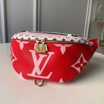 Giant Monogram Canvas Bumbag/belt Bag M44575 Red/pink 2019 Collection