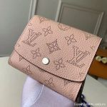 Iris Compact Wallet M62541 Magnolia Pink Collection