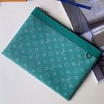 Discovery Pochette Monogram Canvas Pouch M62291 Green 2019 Collection