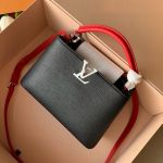 Capucines Bb Top Handle Bag M53678 Black/red 2019 Collection