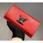 Epi Leather Twist Wallet M61179 Red