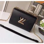 Epi Leather Twist Mm Shoulder Bag M50282 Black/gold 2020 Collection