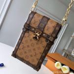 Monogram Canvas Phone Holder Mini Bag M63913 Monogram 2019 Collection