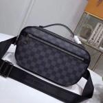 Men's Ambler Damier Graphite Canvas Belt Bag N41289 2019 Collection