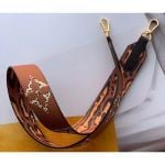Monogram Canvas Lv Jungle Shoulder Strap Bandouliere J02455 Brown