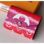 Monogram Canvas Lv Escale Victorine Wallet M68842 Red 2020 Collection