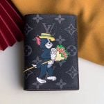 Monogram Eclipse Canvas Tom And Jerry Print Passport Cover M64411 2019 Collection