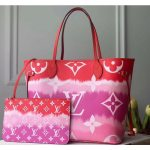 Lv Escale Neverfull Mm Tote Bag M45127 Rouge Red 2020