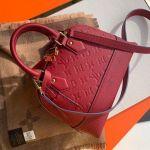 Sac Neo Alma Bb Monogram Empreinte Leather Bag M44866 Red 2019 Collection