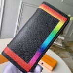 Colorful Trim Brazza Long Wallet M32572 Collection